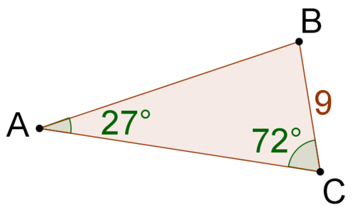 how to find the adjacent side of a right triangle